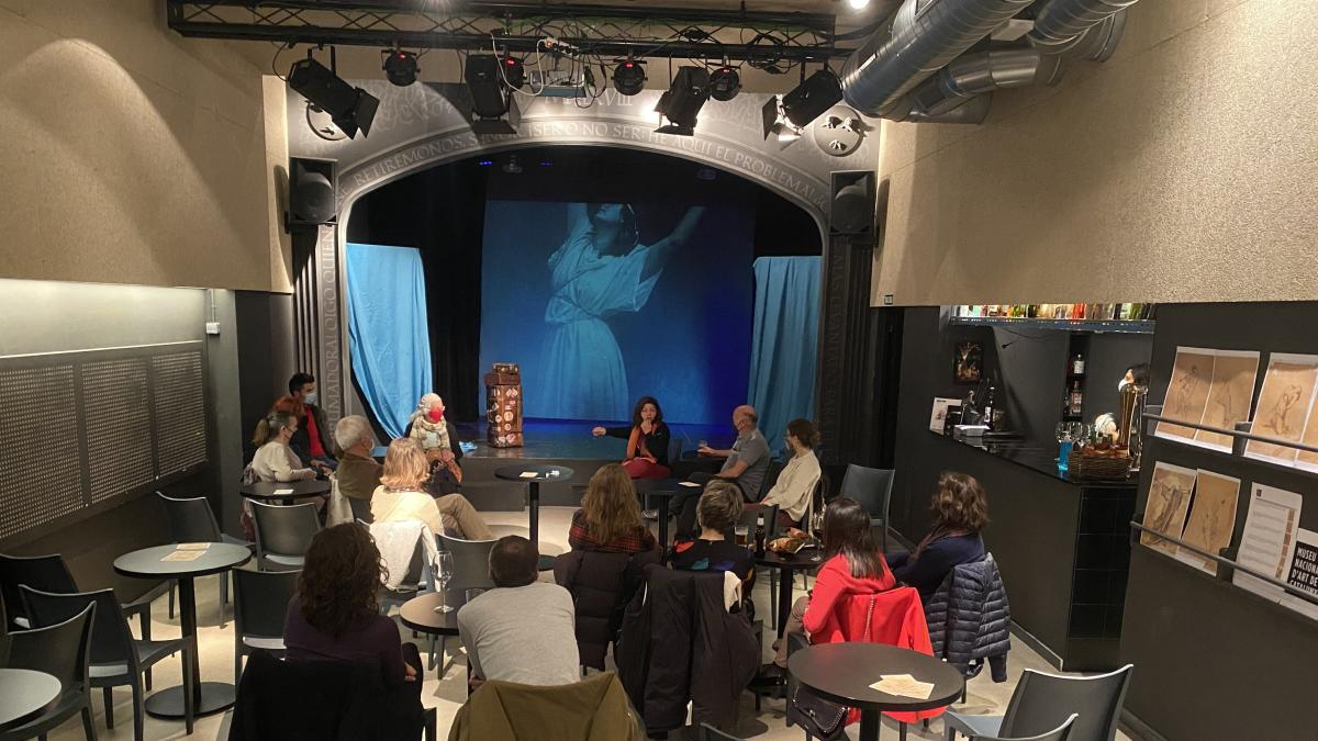 Sala Negra comienza este domingo los 'Encuentros en Escena' para acercar al público dramaturgos, creadores y actores