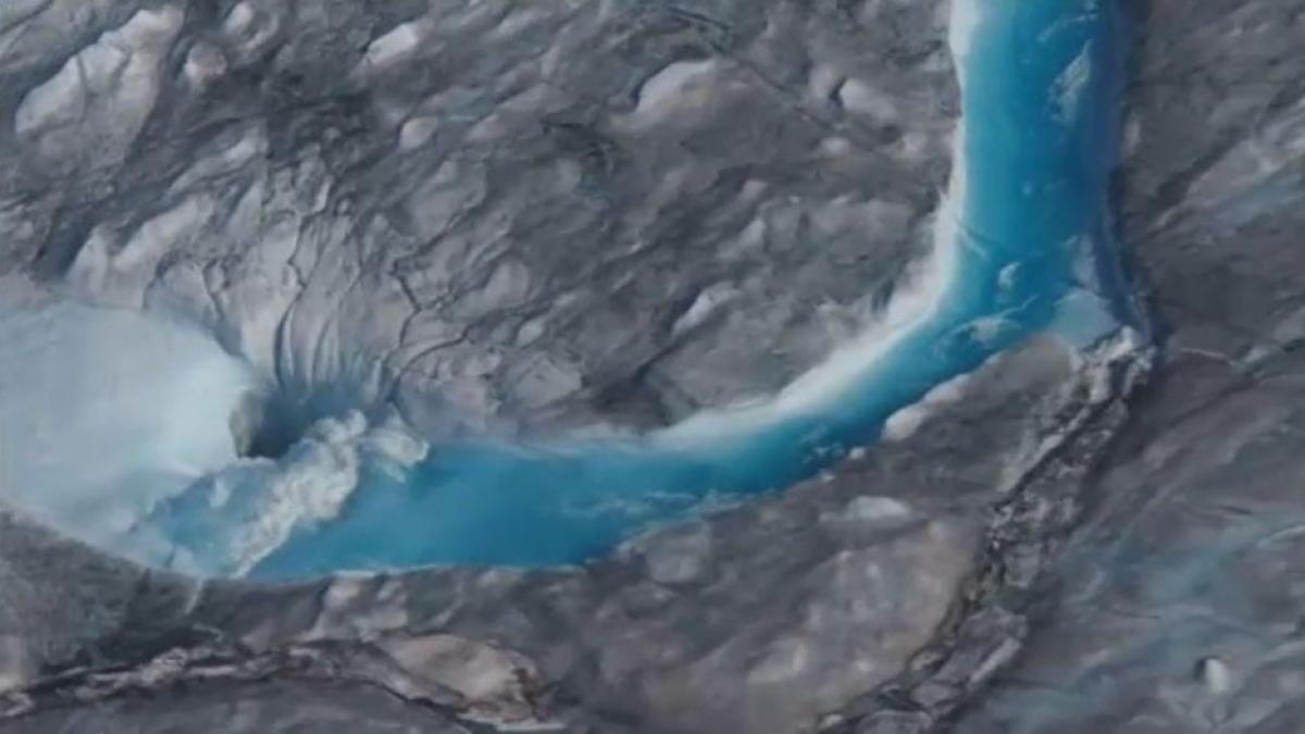 Groenlandia se derrite: en un solo día pierde 11.000 millones de toneladas de hielo
