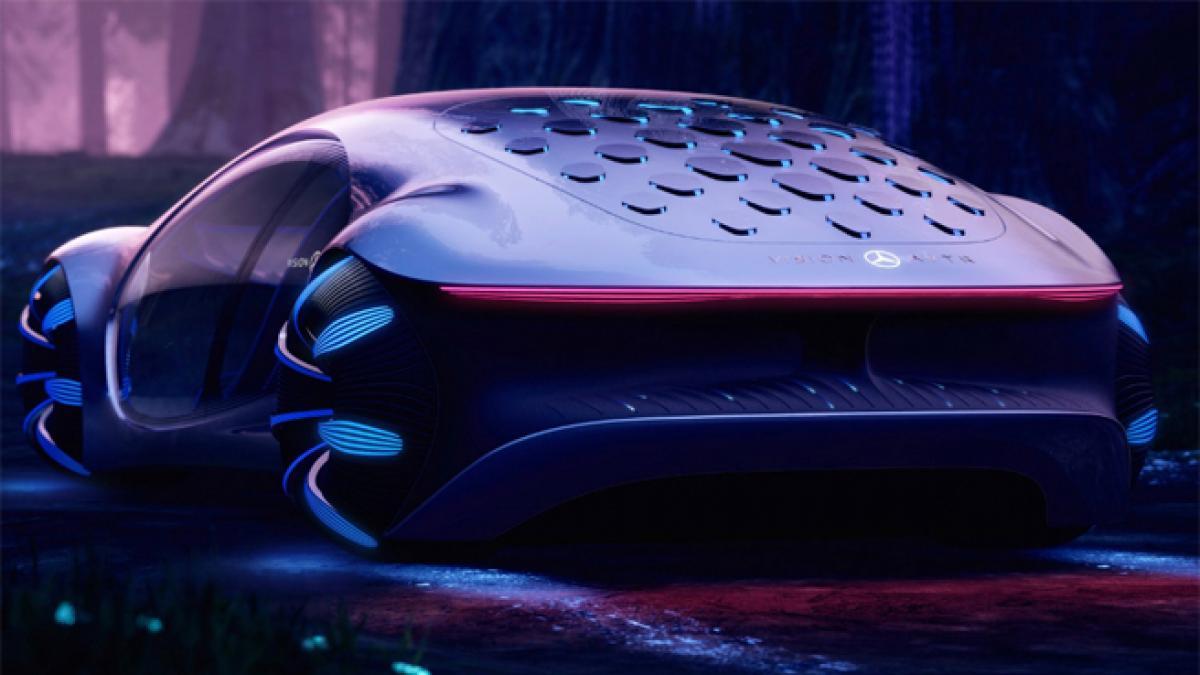 Mercedes-Benz presenta un coche futurista inspirado en Avatar